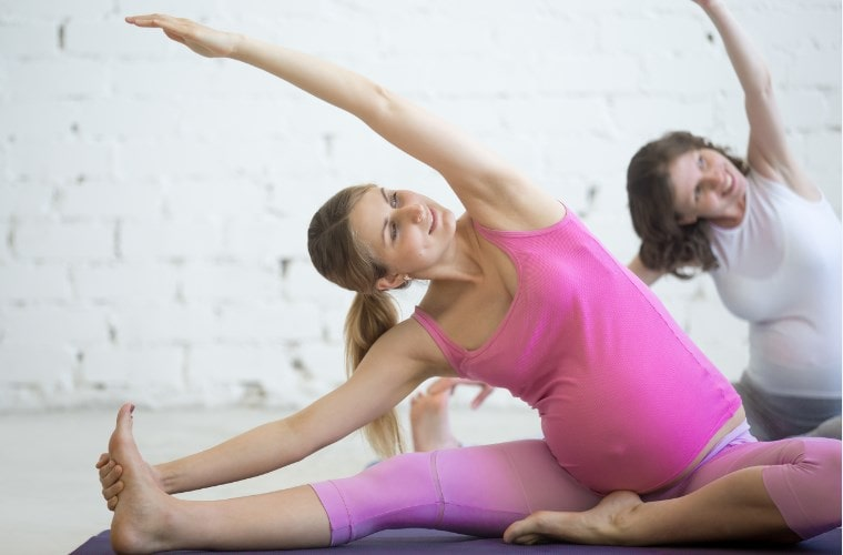 שיעורי פילאטיס בהריון